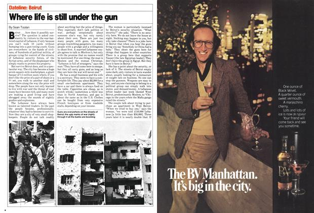 Article Preview: Where life is still under the gun, November 1980 | Maclean's