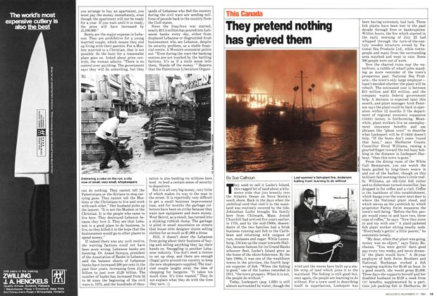 Article Preview: They pretend nothing has grieved them, November 1980 | Maclean's
