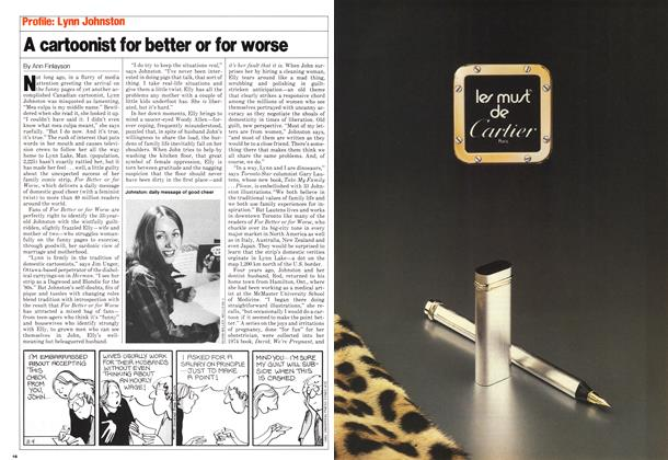 Article Preview: A cartoonist for better or for worse, November 1980 | Maclean's