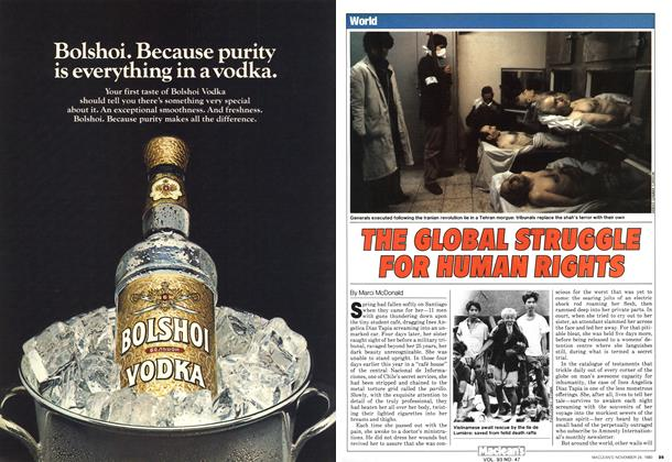 Article Preview: THE GLOBAL STRUGGLE FOR HUMAN RIGHTS, November 1980 | Maclean's