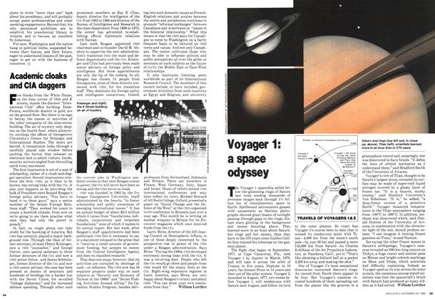 Article Preview: Voyager 1: a space odyssey, November 1980 | Maclean's