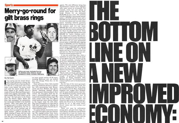 Article Preview: Merry-go-round for gilt brass rings, November 1980 | Maclean's