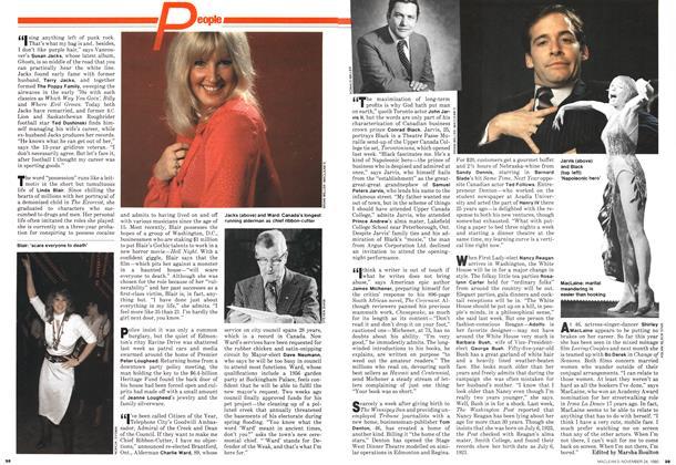 Article Preview: People, November 1980   Maclean's