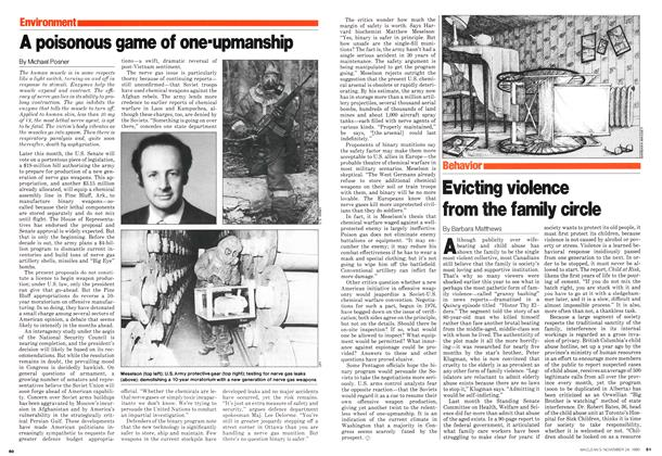 Article Preview: A poisonous game of one-upmanship, November 1980 | Maclean's