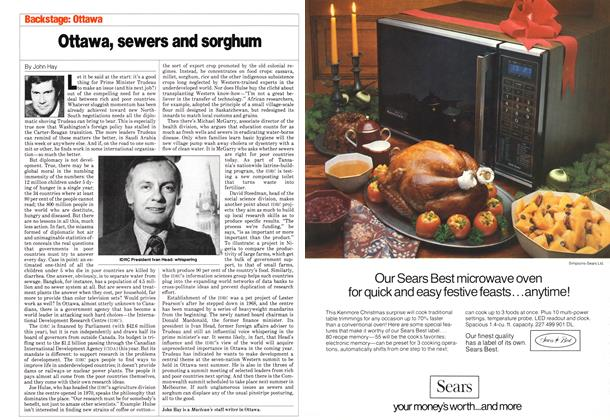 Article Preview: Ottawa, sewers and sorghum, November 1980   Maclean's