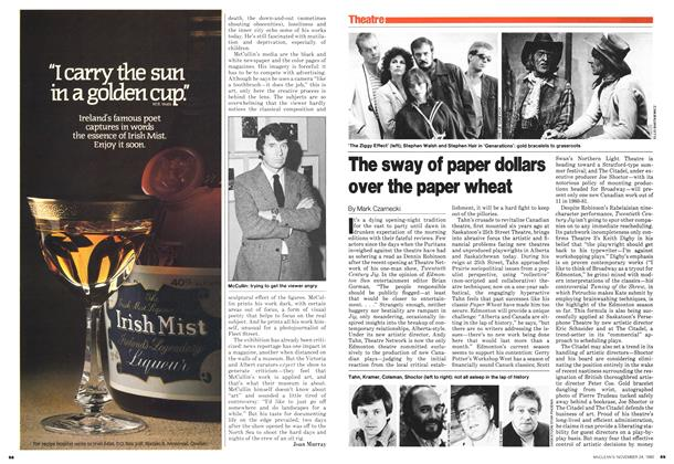 Article Preview: The sway of paper dollars over the paper wheat, November 1980 | Maclean's