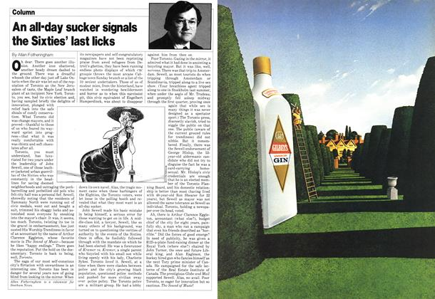 Article Preview: An all-day sucker signals the Sixties' last licks, November 1980   Maclean's