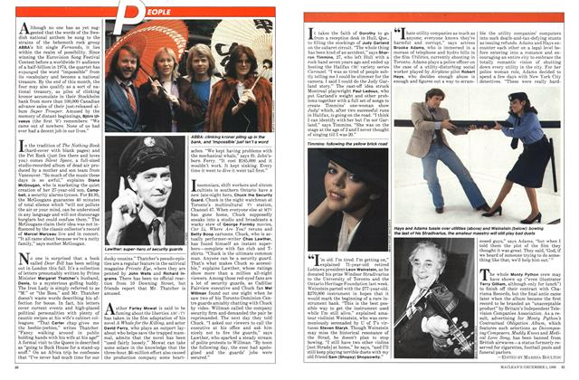 Article Preview: PEOPLE, December 1980 | Maclean's