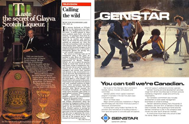 Article Preview: Calling the wild, December 1980 | Maclean's