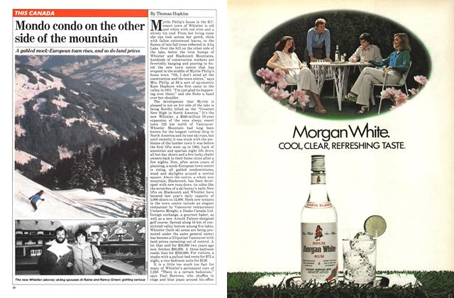 Article Preview: Mondo condo on the other side of the mountain, December 1980 | Maclean's