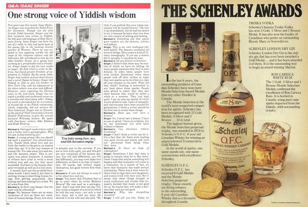 Article Preview: One strong voice of Yiddish wisdom, December 1980 | Maclean's