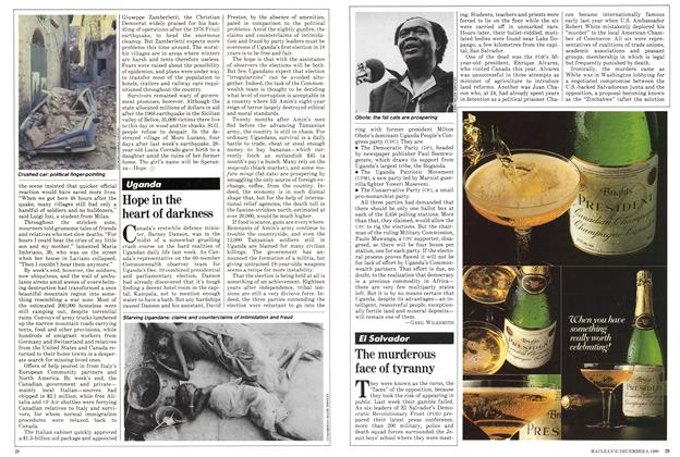 Article Preview: The murderous face of tyranny, December 1980 | Maclean's