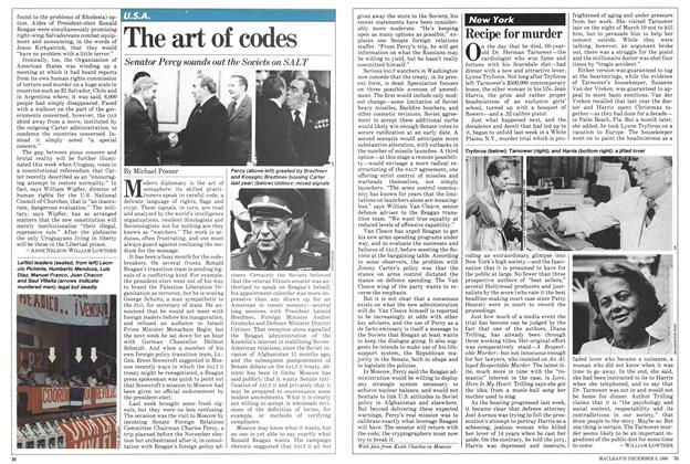 Article Preview: The art of codes, December 1980 | Maclean's