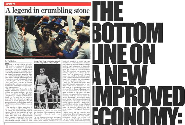 Article Preview: A legend in crumbling stone, December 1980 | Maclean's