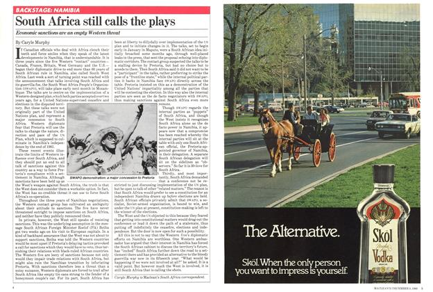 Article Preview: South Africa still calls the plays, December 1980 | Maclean's