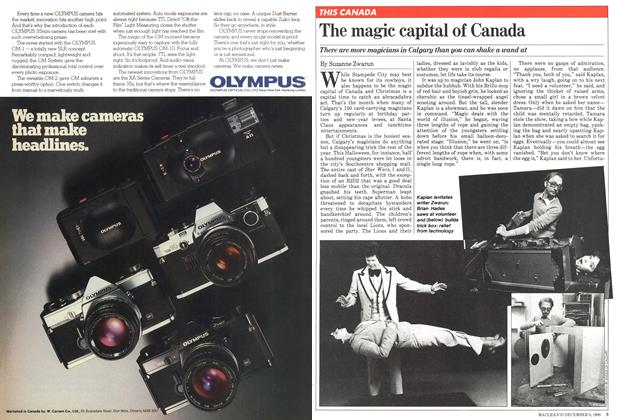 Article Preview: The magic capital of Canada, December 1980 | Maclean's