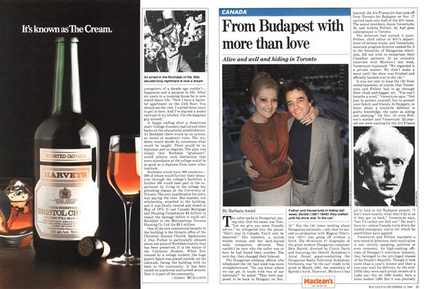 Article Preview: From Budapest with more than love, December 1980 | Maclean's