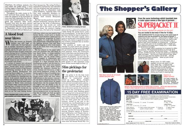 Article Preview: Slim pickings for the proletariat, December 1980   Maclean's