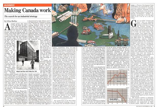 Article Preview: Making Canada work, December 1980 | Maclean's