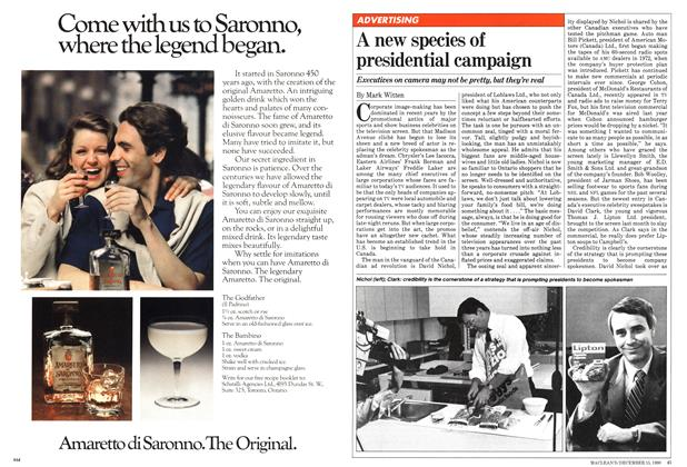 Article Preview: A new species of presidential campaign, December 1980 | Maclean's