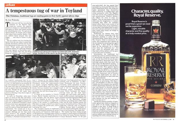 Article Preview: A tempestuous tug of war in Toyland, December 1980 | Maclean's