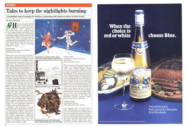 Article Preview: Tales to keep the nightlights burning, December 1980 | Maclean's