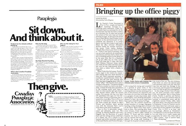 Article Preview: Bringing up the office piggy, December 1980 | Maclean's