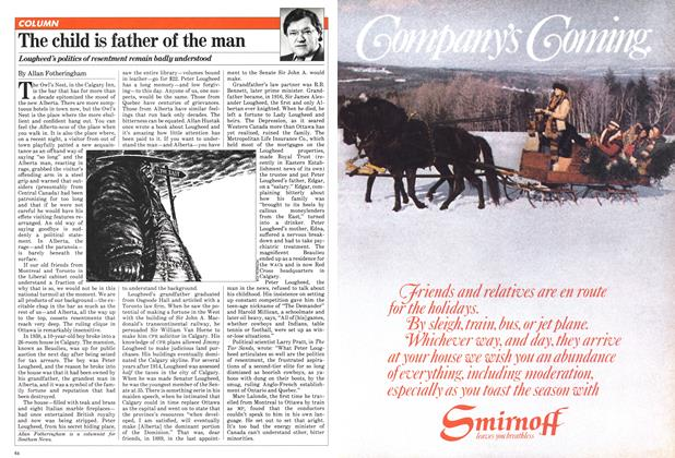 Article Preview: The child is father of the man, December 1980 | Maclean's