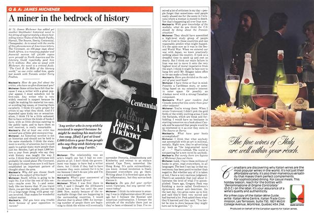 Article Preview: A miner in the bedrock of history, December 1980   Maclean's