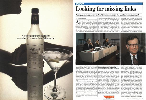 Article Preview: Looking for missing links, December 1980 | Maclean's