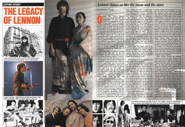 Article Preview: THE LEGACY OF LENNON, December 1980 | Maclean's