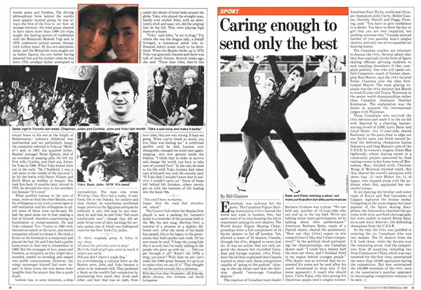 Article Preview: Caring enough to send only the best, December 1980 | Maclean's