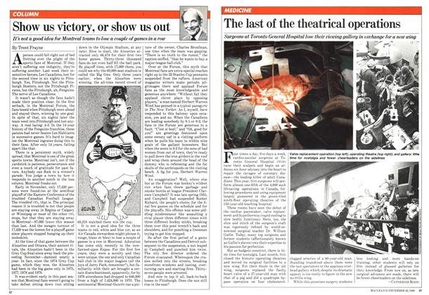 Article Preview: Show us victory, or show us out, December 1980 | Maclean's