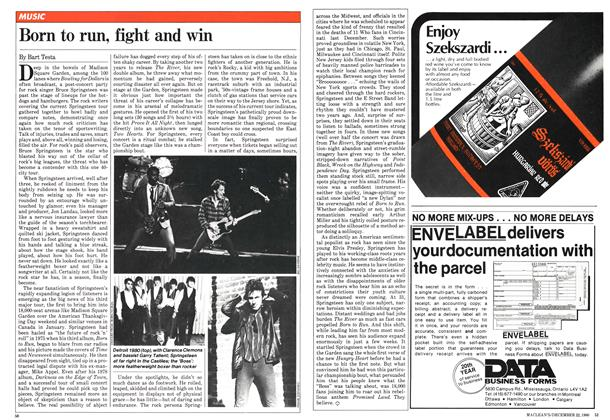 Article Preview: Born to run, fight and win, December 1980 | Maclean's