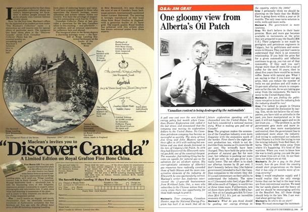 Article Preview: One gloomy view from Alberta's Oil Patch, December 1980 | Maclean's