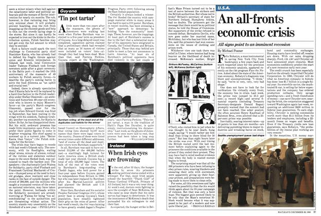 Article Preview: An all-fronts economic crisis, December 1980 | Maclean's