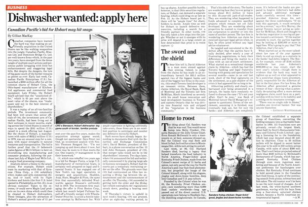Article Preview: Dishwasher wanted: apply here, December 1980 | Maclean's
