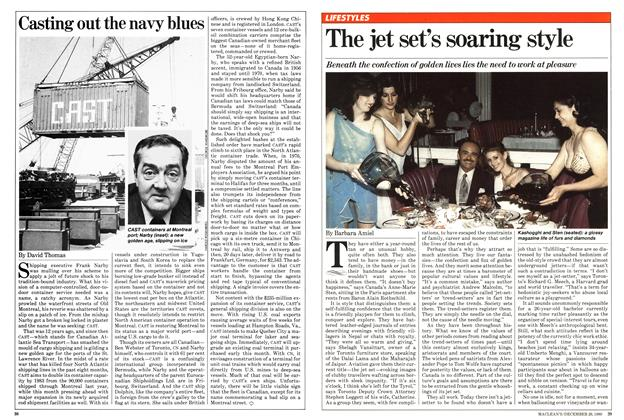 Article Preview: The jet set's soaring style, December 1980 | Maclean's