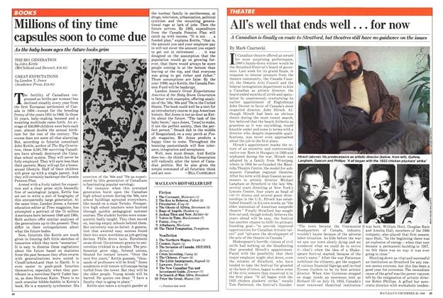 Article Preview: All's well that ends well... for now, December 1980 | Maclean's