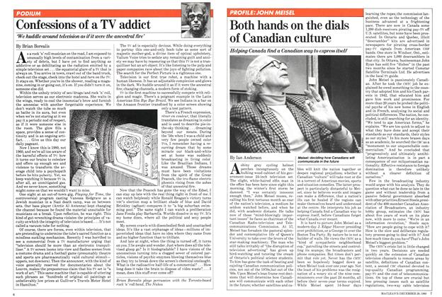 Article Preview: Both hands on the dials of Canadian culture, December 1980 | Maclean's