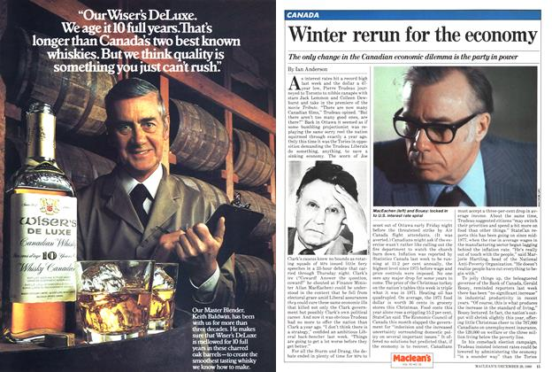 Article Preview: Winter rerun for the economy, December 1980 | Maclean's