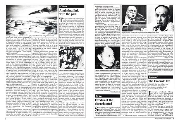 Article Preview: Exodus of the disenchanted, January 1981 | Maclean's