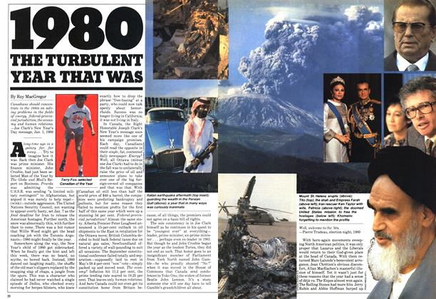 Article Preview: 1980 THE TURBULENT YEAR THAT WAS, January 1981 | Maclean's