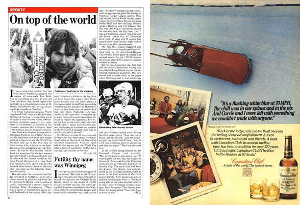 Article Preview: On top of the world, January 1981 | Maclean's