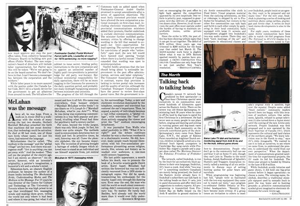 Article Preview: McLuhan was the message, January 1981 | Maclean's