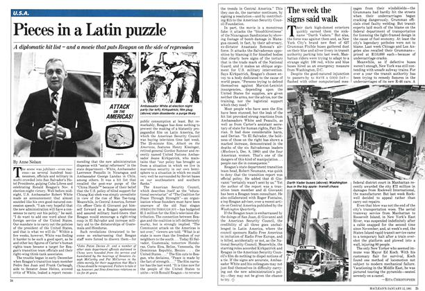 Article Preview: Pieces in a Latin puzzle, January 1981 | Maclean's
