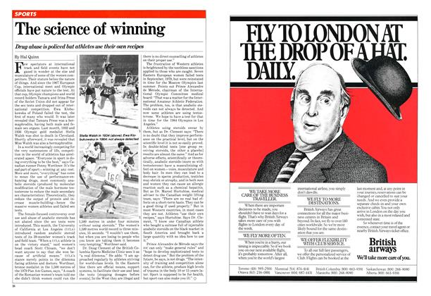 Article Preview: The science of winning, January 1981 | Maclean's
