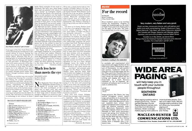 Article Preview: Much less here than meets the eye, January 1981 | Maclean's