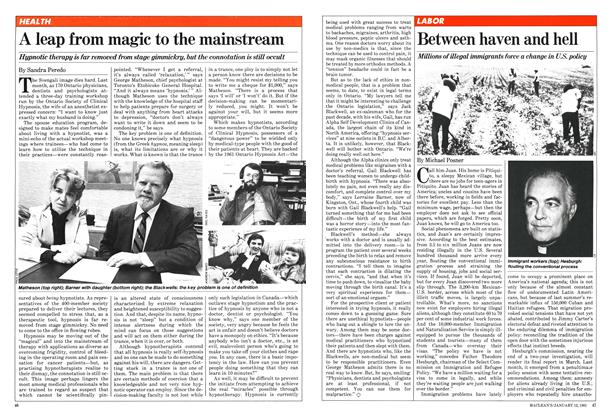 Article Preview: A leap from magic to the mainstream, January 1981 | Maclean's
