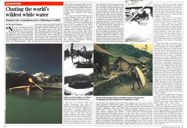 Article Preview: Chuting the world's wildest white water, January 1981 | Maclean's